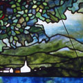 New England Summer in Stained Glass